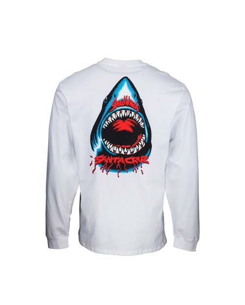 T-Shirt Santa Cruz Speed Wheels Shark