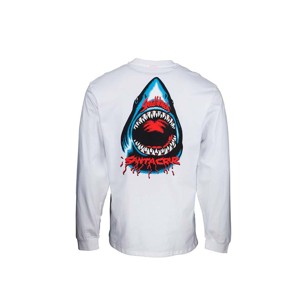 T-Shirt Santa Cruz Speed Wheels Shark