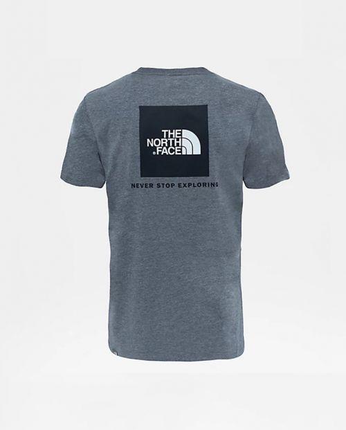 The North Face T-Shirt Red Box Tee MEDIUM GREY HEATHER