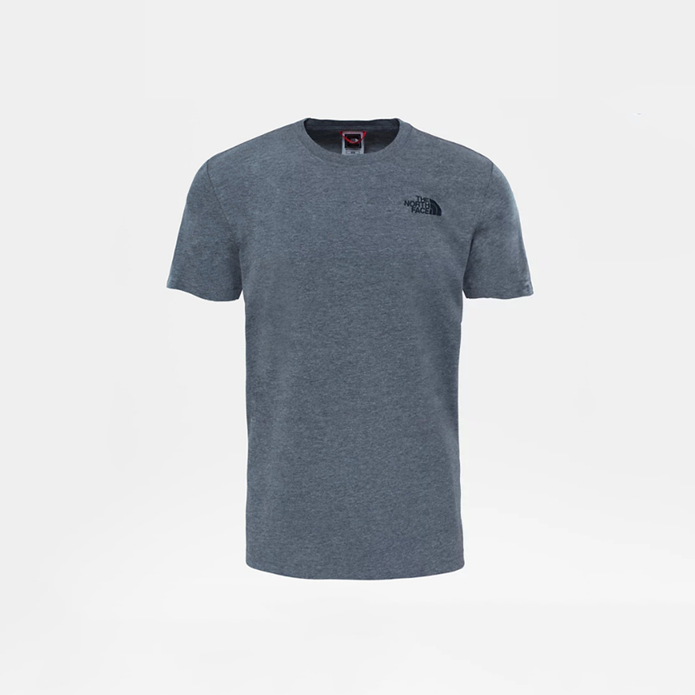 The North Face T-Shirt Red Box Tee MEDIUM GREY HEATHER