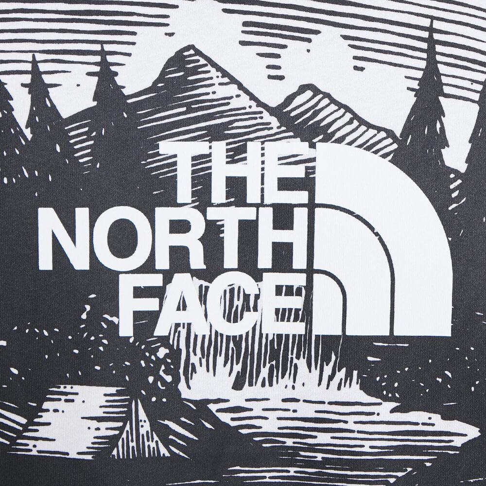 The North Face T-Shirt RedBox Celebration White Black