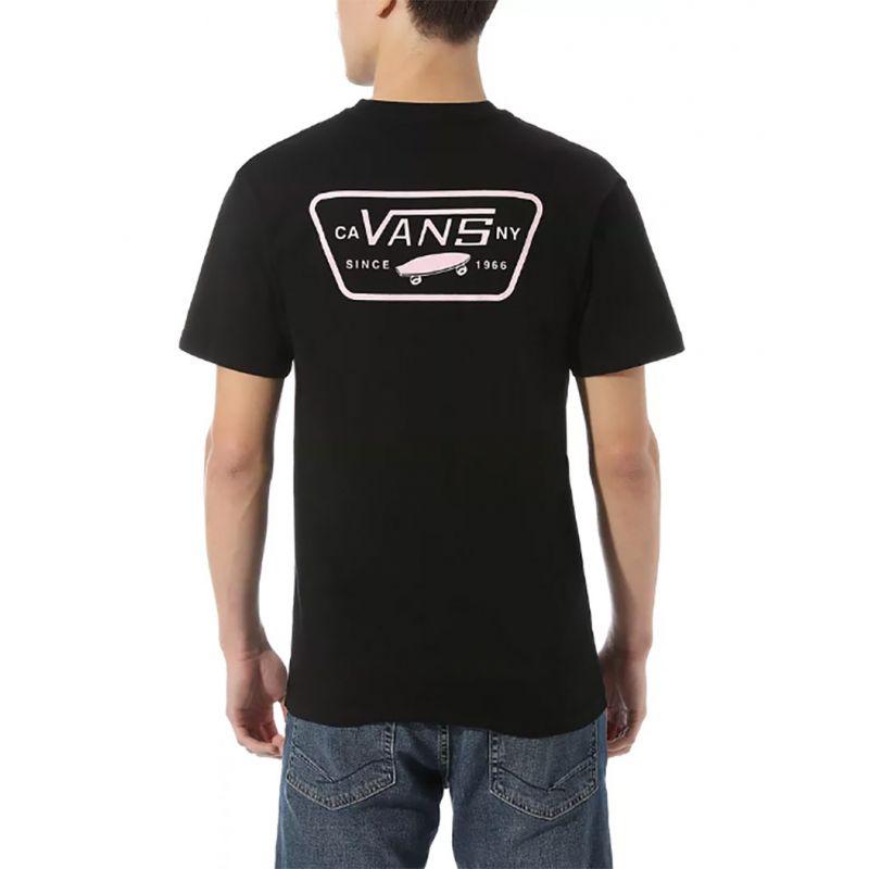 Vans T-Shirt Full Patch Back SS BLACK:SUL 1
