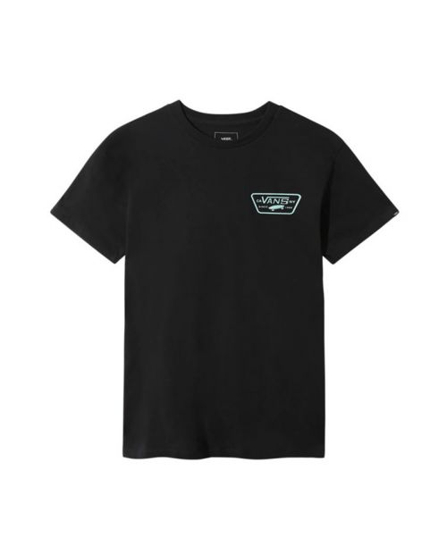 Vans T-Shirt Full Patch Back SS BLACK:SUL 1