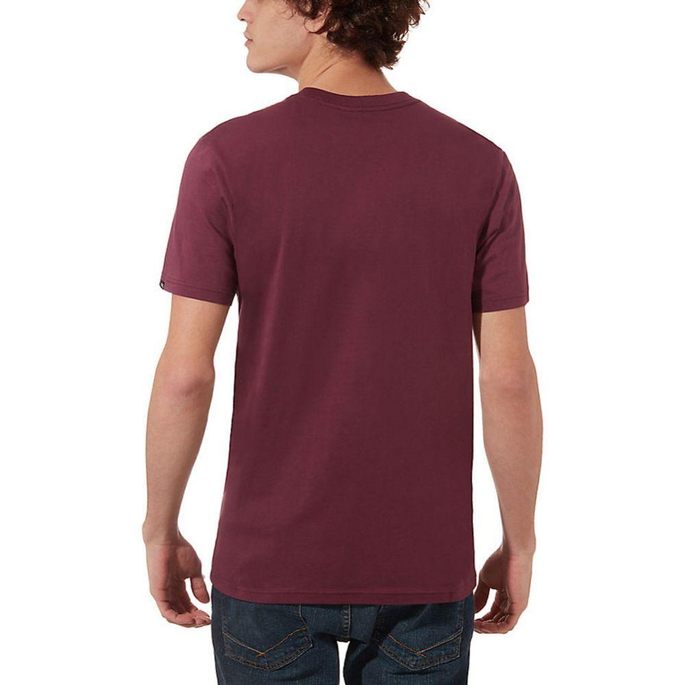 Vans T-Shirt Print Box - PRUNE:WHITE