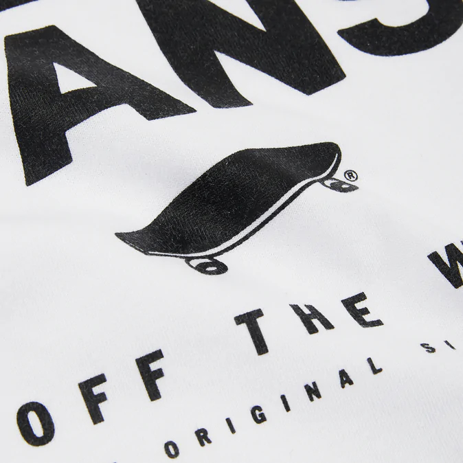 Vans T-Shirt Print Box SS WHITE/BLACK