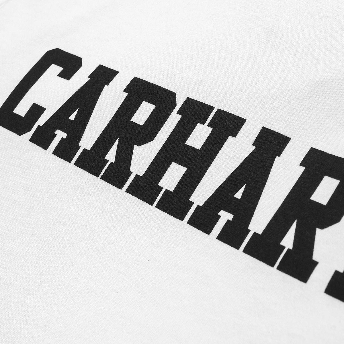 Carhartt T-Shirt College White & EtnaRed