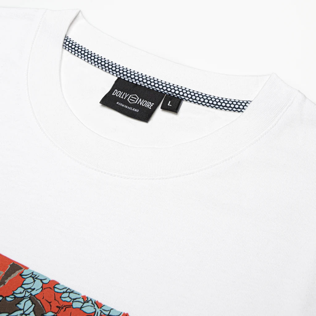 Dolly Noire T-Shirt Kuniyoshi - WHT