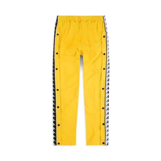 Kappa Pantaloni 222 Banda Astoria Snaps Slim- YELLOW/BLK/WHT 2