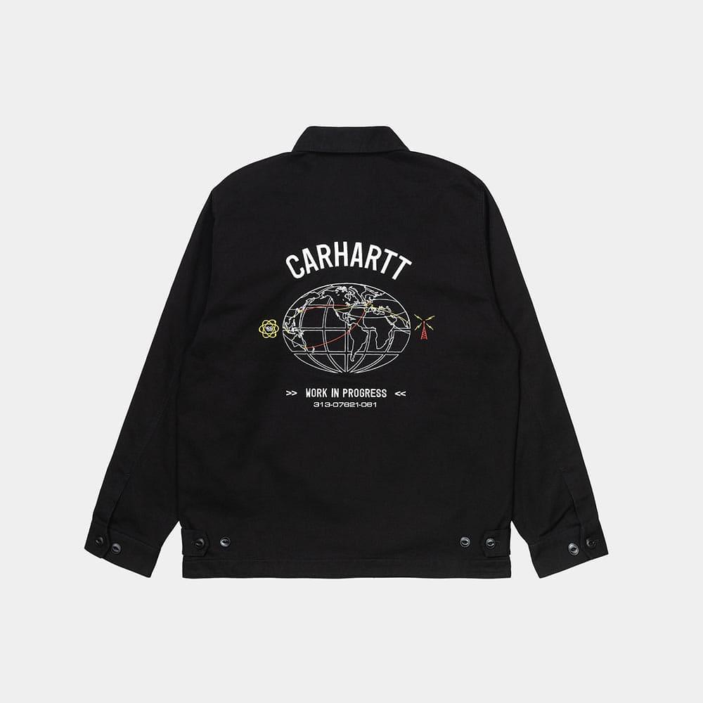 Carhartt Giacca Cartograph Jacket Black 1