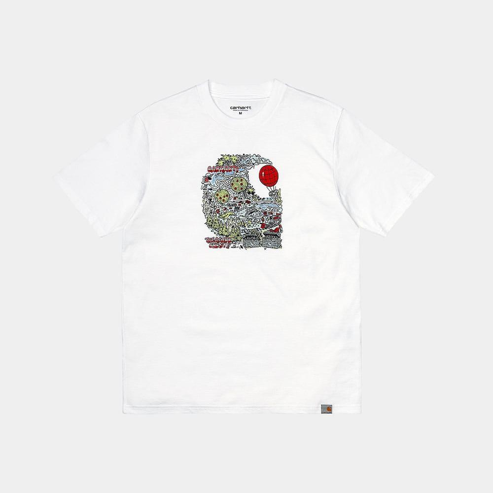 Carhartt T-Shirt Treasure C White