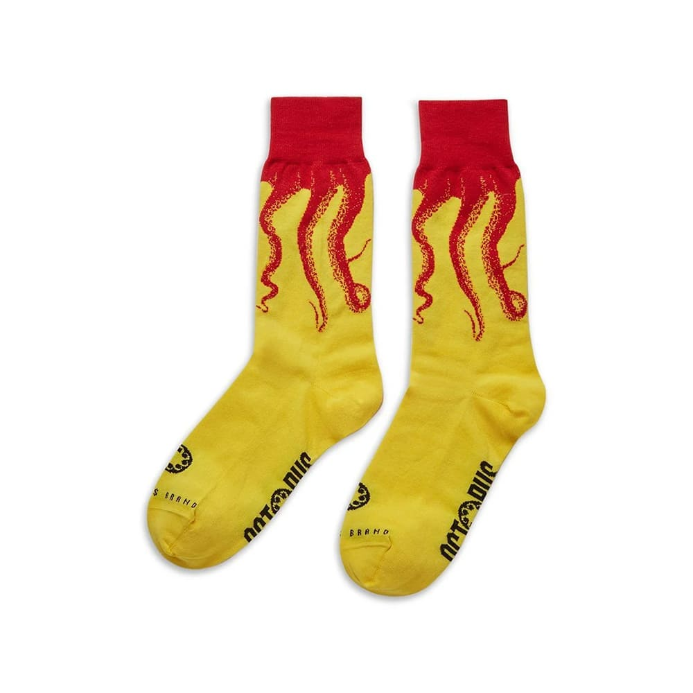 Octopus Calze Original Red Yellow