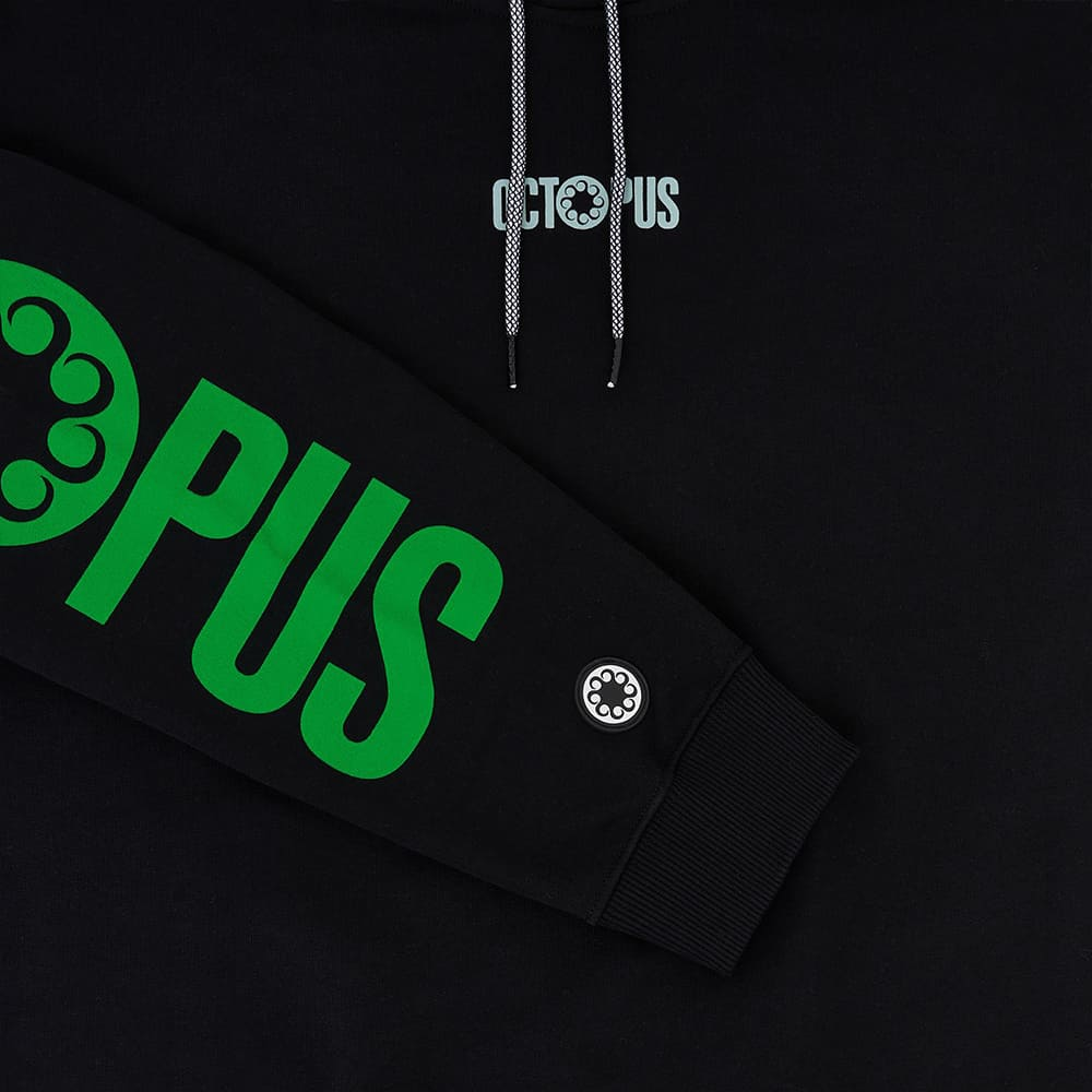 Octopus Felpa Logo Black