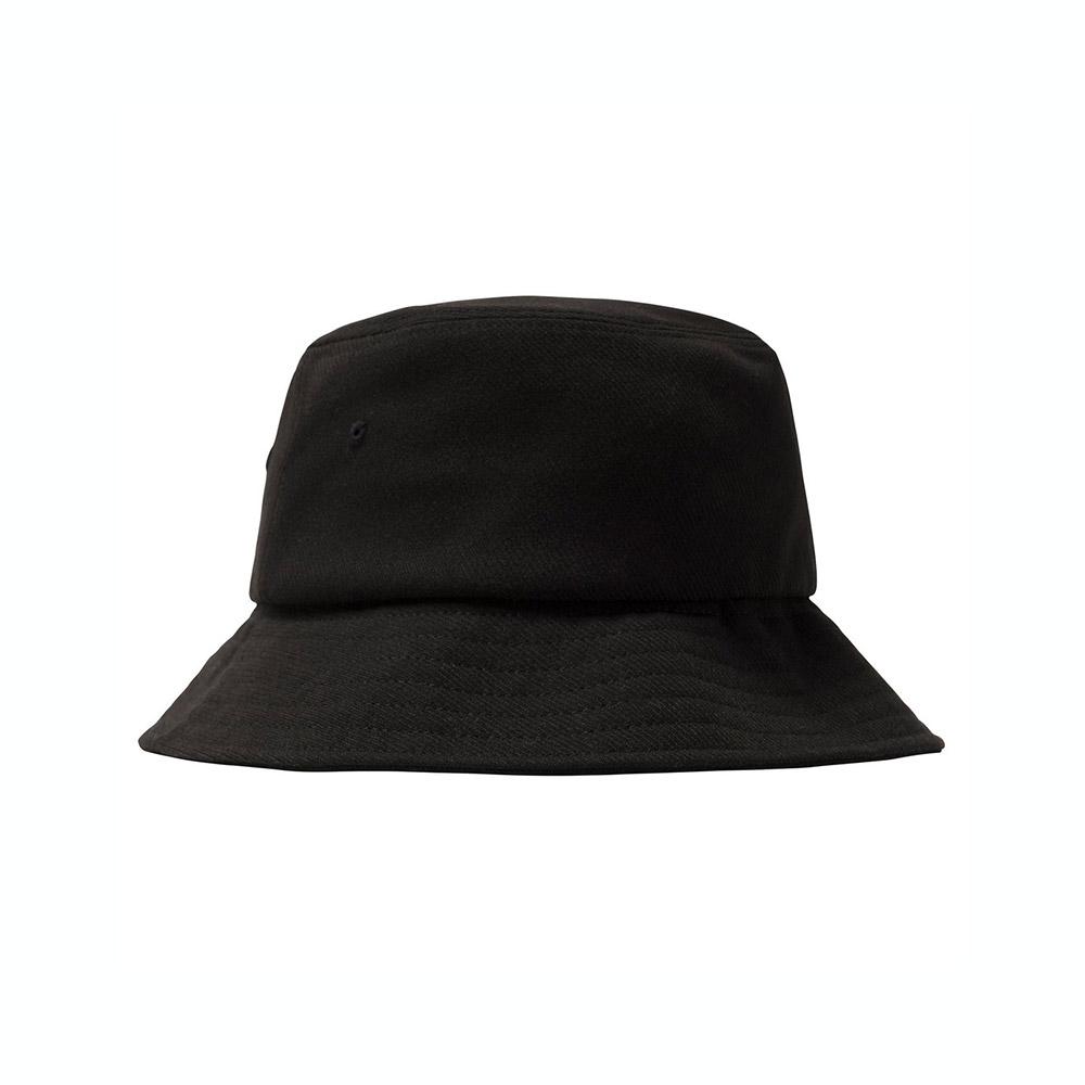 Stussy Cappello Big Logo Twill Bucket Black