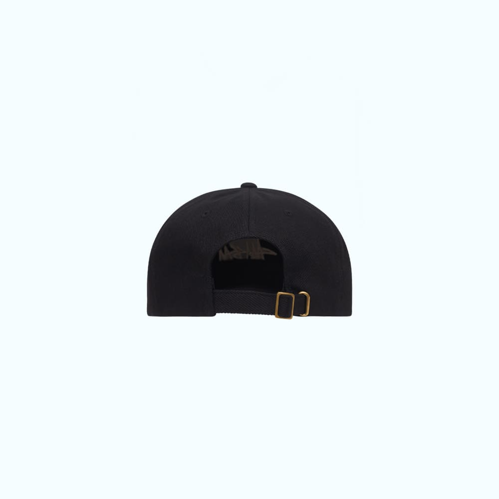 Stussy Cappello Big Logo Twill Low Pro Black 1