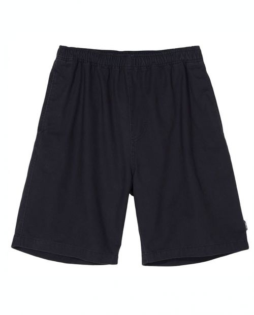 Stussy Pantaloni Corti Brushed Beach Short Black
