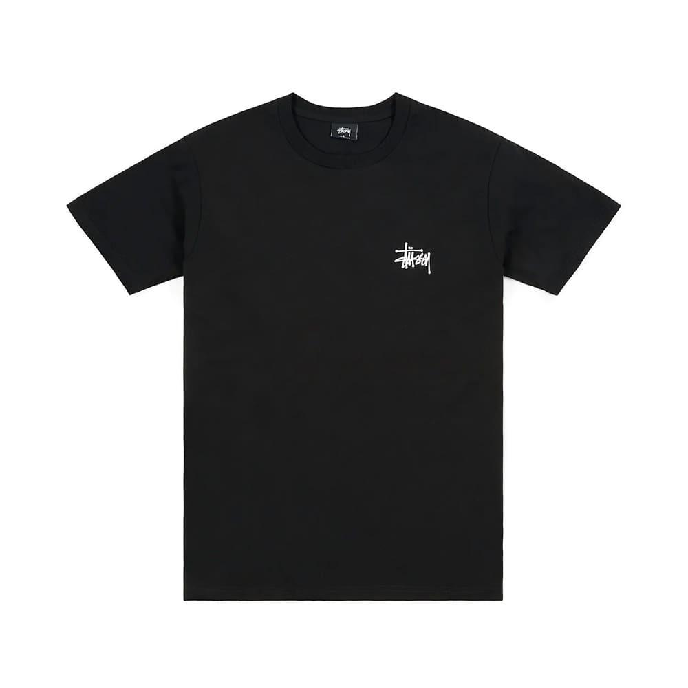 Stussy T-Shirt Basic App. Black