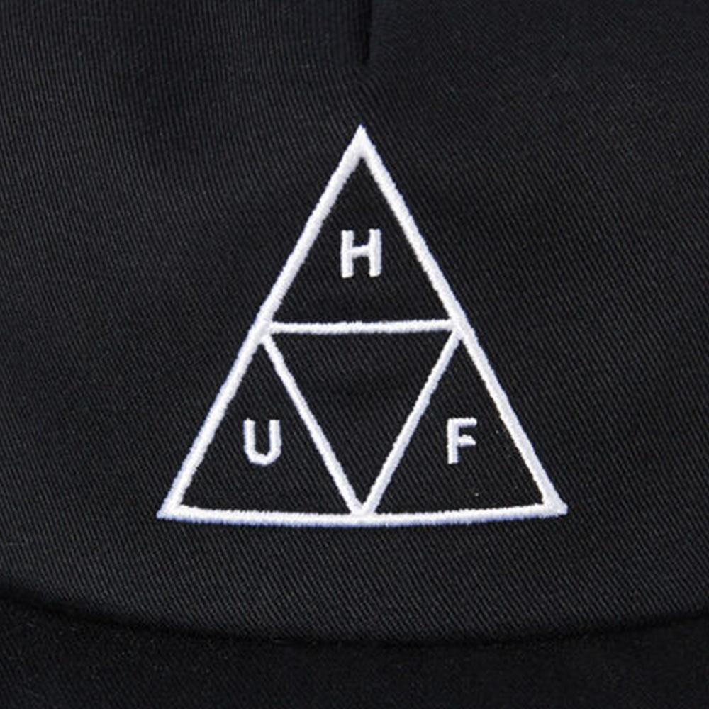 Cappello Huf Essentials TT 6 Panel Black