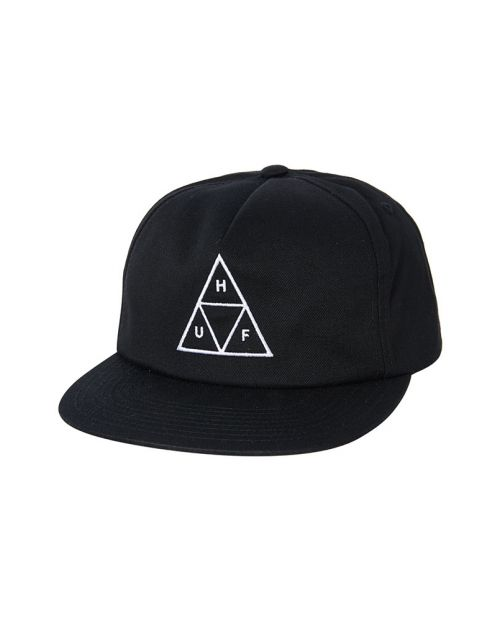 Cappello Huf Essentials TT 6 Panel Black