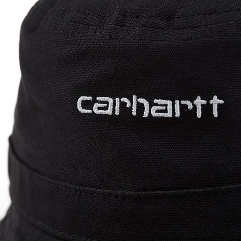 Cappello da pescatore Carhartt Script Bucket Nero
