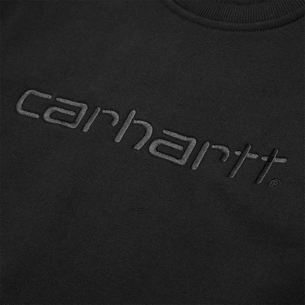 Carhartt Felpa Sweat - BLK/BLK