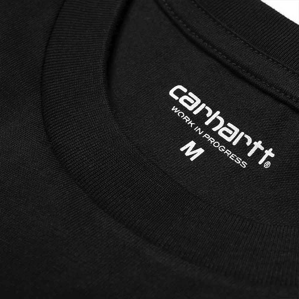 Carhartt T-Shirt Script Black White