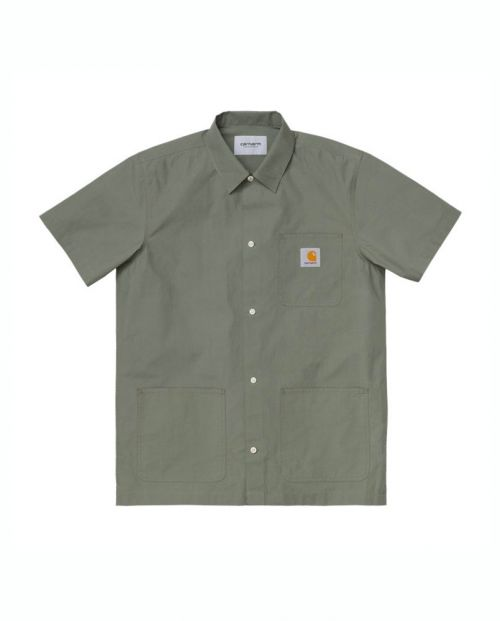 Camicia Carhartt Creek Dollar Green