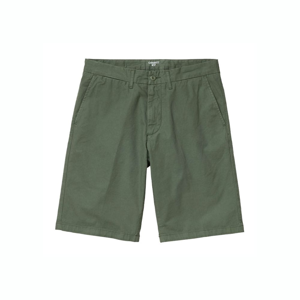 Pantaloncini Carhartt Johnson Dollar Green