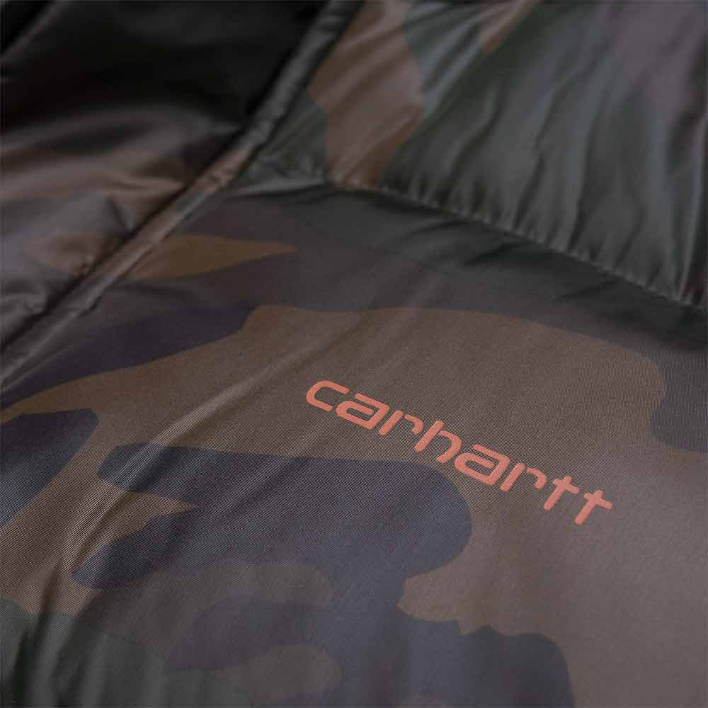 Piumino Carhartt Deming Camouflage Brick Orange
