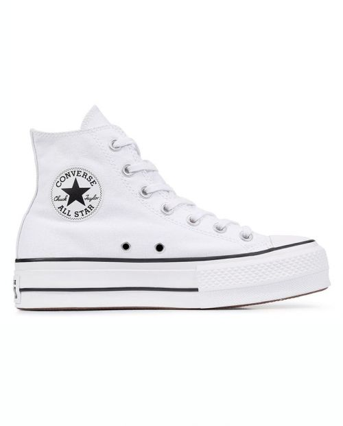Scarpe Chuck Taylor All Star Platform High Top Bianca