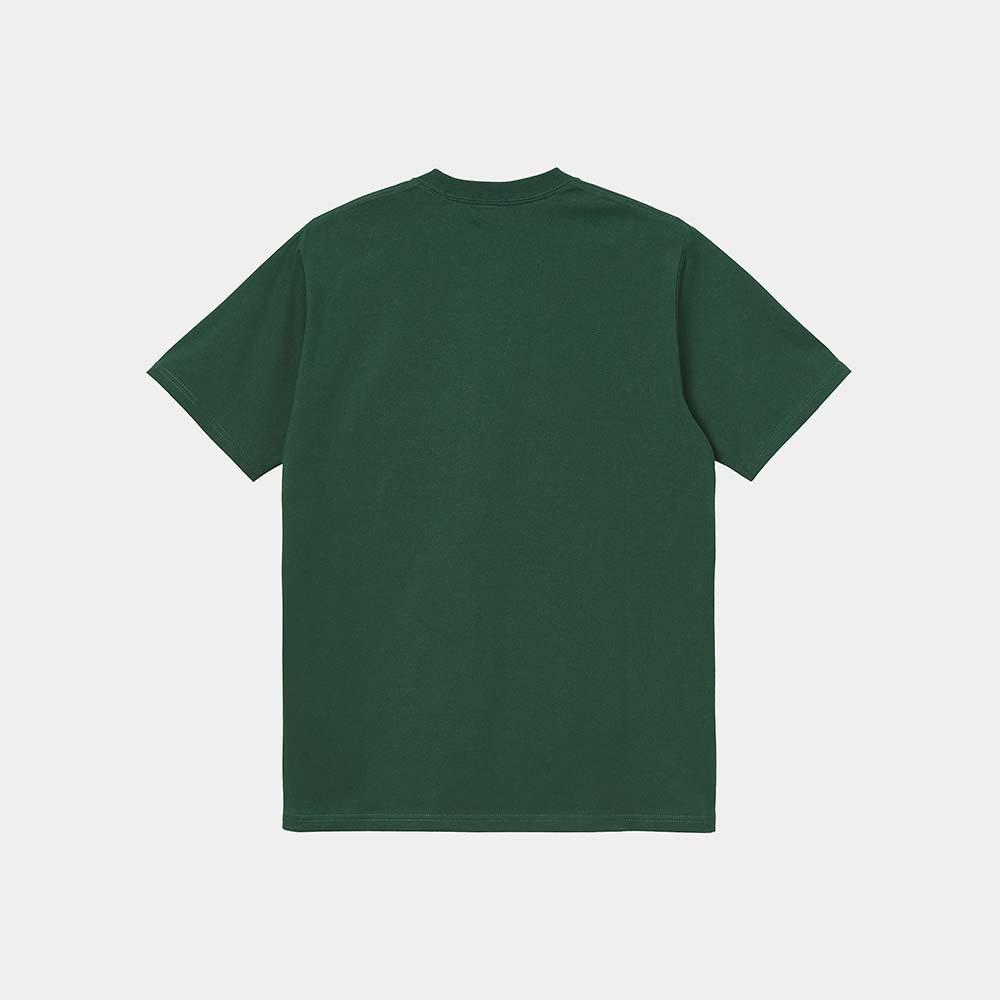 T-Shirt Carhartt University Script Treehouse White