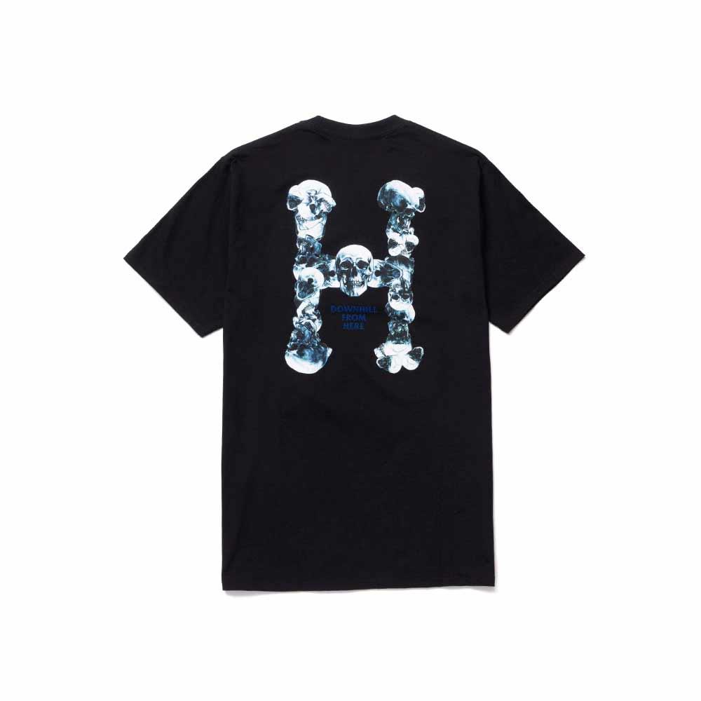 T Shirt Huf Skulls Classic Nera 1