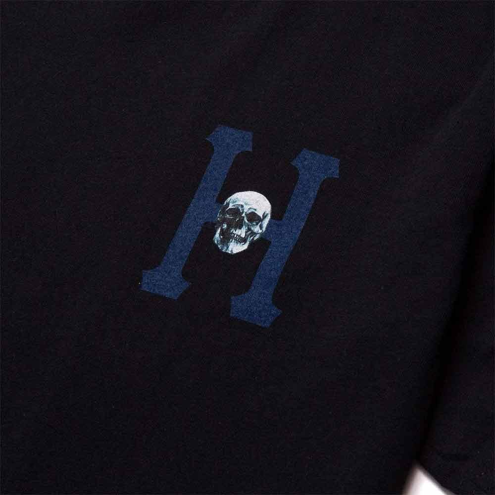 T Shirt Huf Skulls Classic Nera 3
