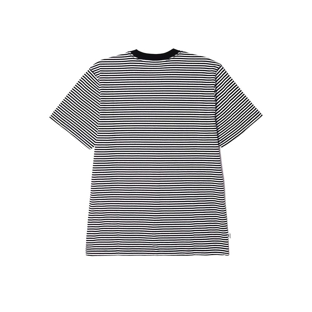 T-Shirt Ideals Organic Stripe Black