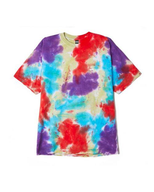 T-Shirt Obey Oxy Fire Blotch tie dye