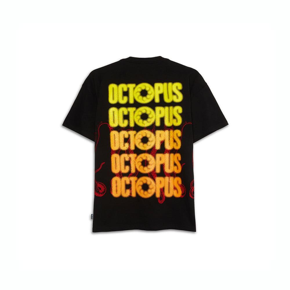 T-Shirt Octopus Blurred
