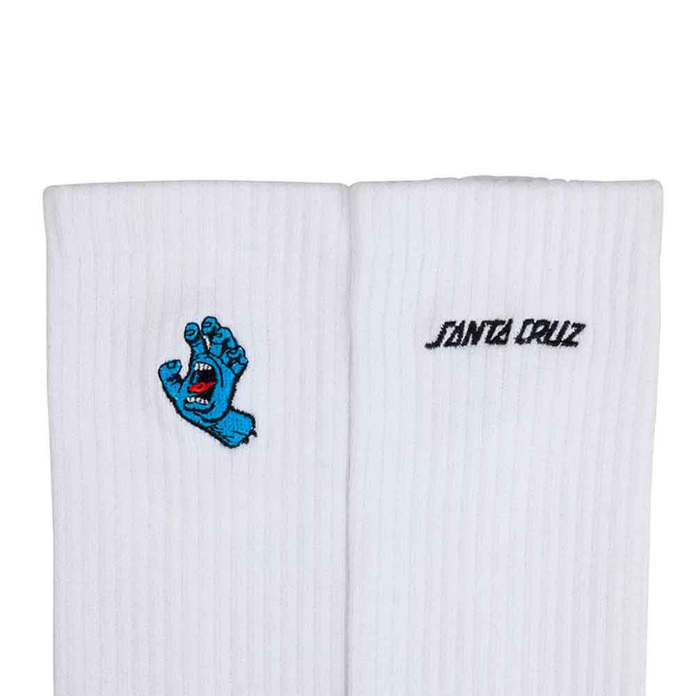 Calze Santa Cruz Mini Hand Sock White