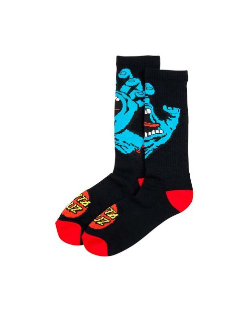 Calze Santa Cruz Screaming Hand Sock Black