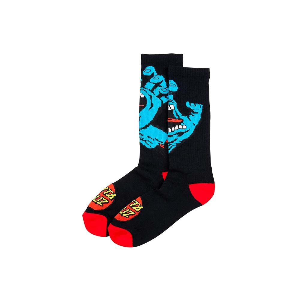 Calze Santa Cruz Screaming Hand Sock Black
