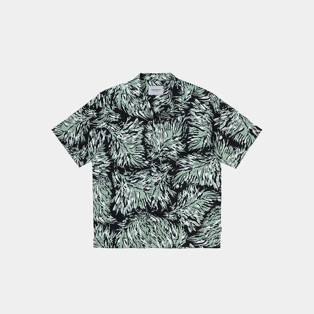 Camicia Carhartt Hinterland Print Black