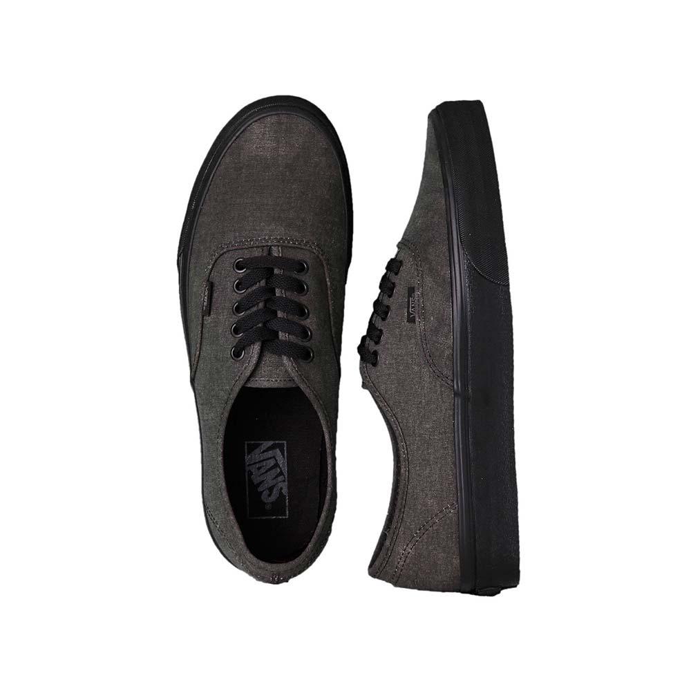 Scarpe Vans Authentic Washed Black Black 3