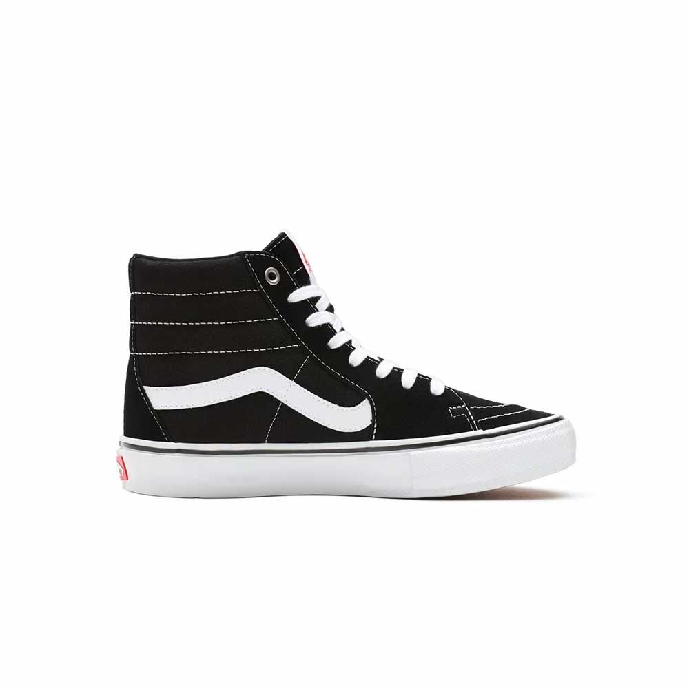 Scarpe Vans Skate Sk8-Hi Black White