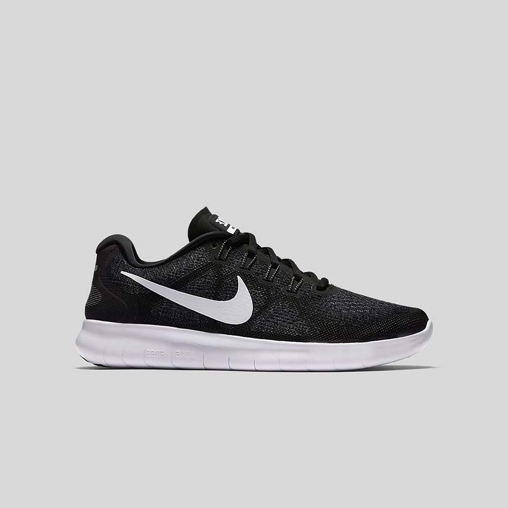 Scarpe da corsa Nike Free Run 2017 Black White Dark Grey