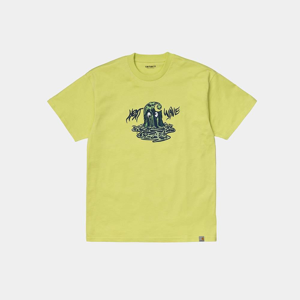 T-Shirt Carhartt Heat Wave Bio Limeade