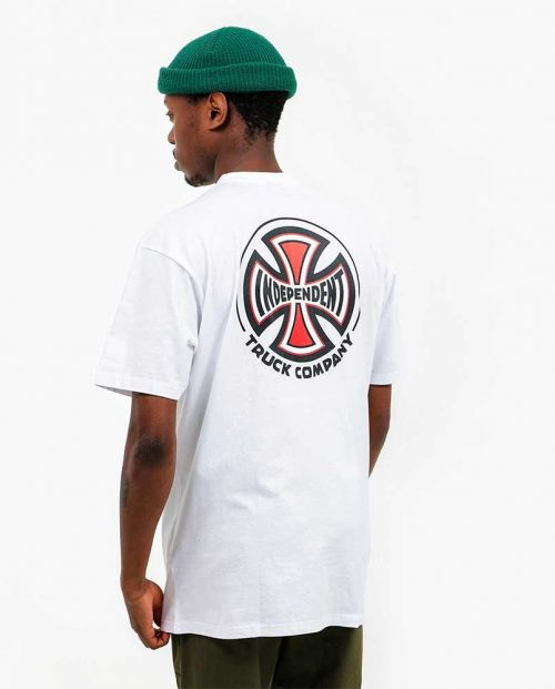 T-Shirt Independent Big Truck Co. White