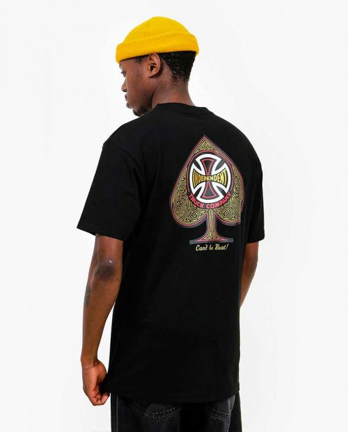 T-Shirt Independent CBB Cross Spade Black