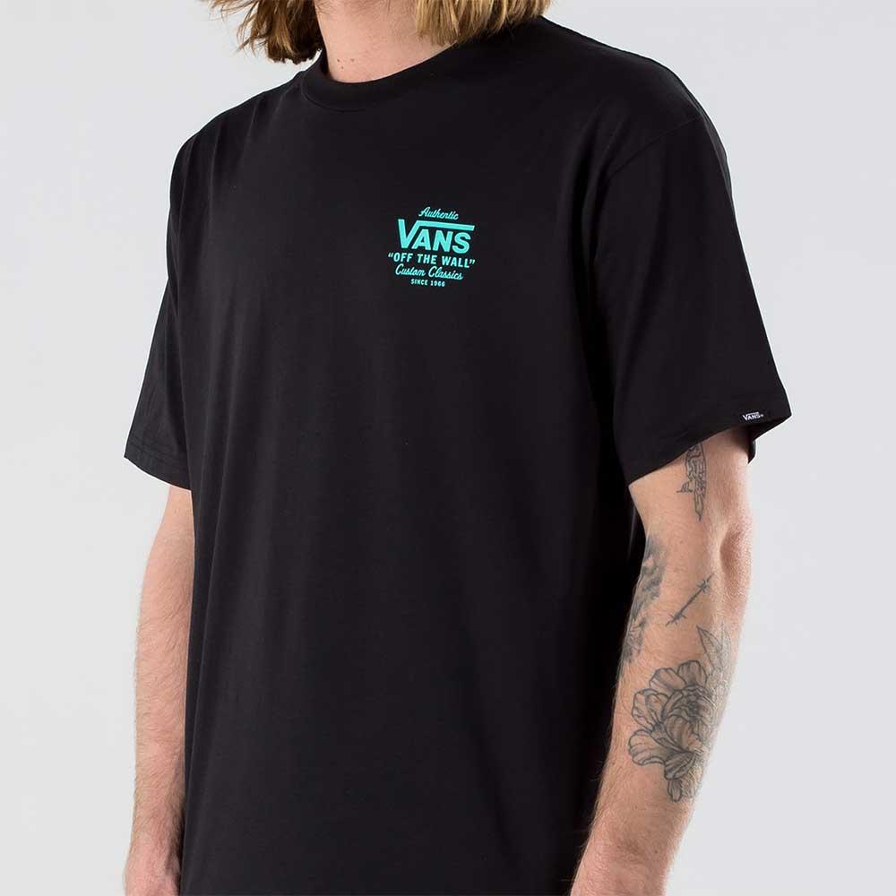 T-Shirt Vans Holder Classic Black Waterfall