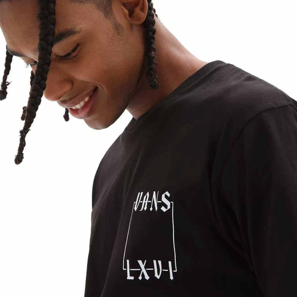 T-Shirt Vans Man Crescent Black