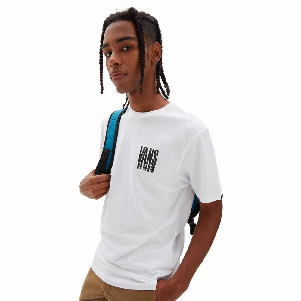 T-Shirt Vans Reflect White