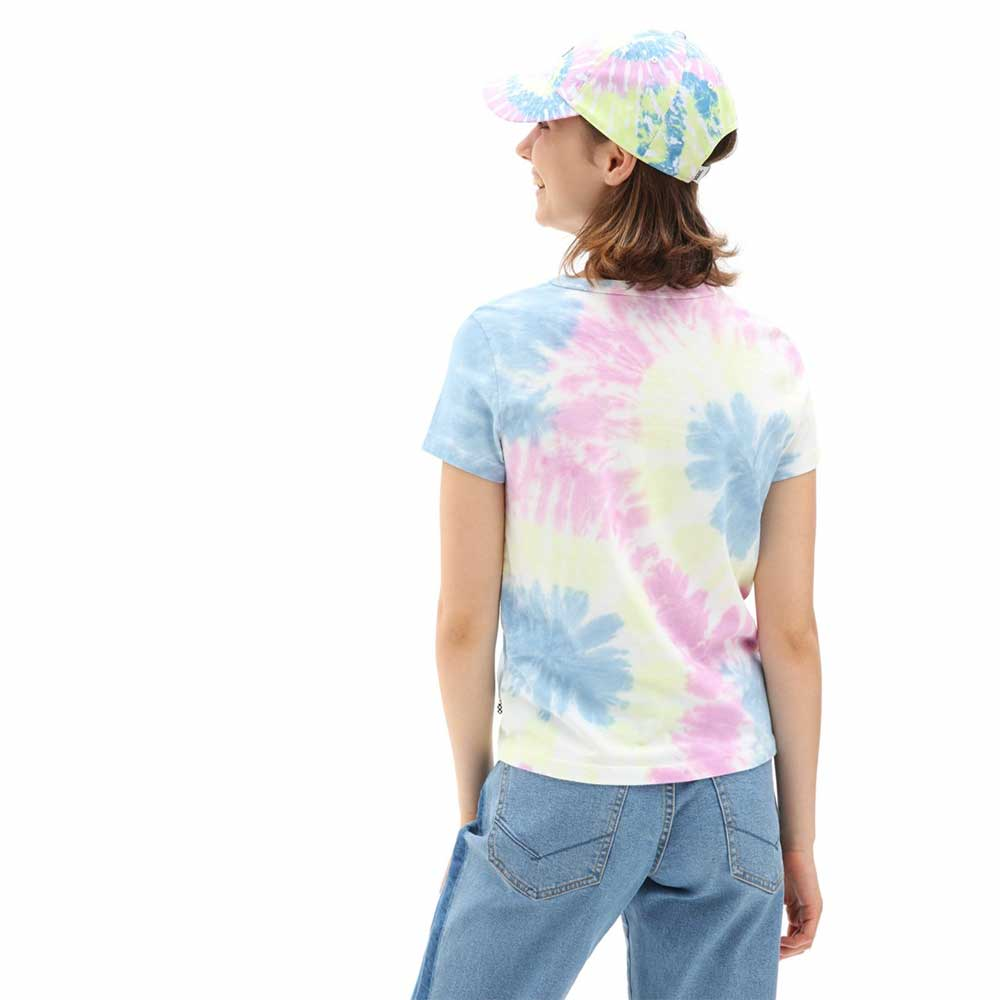 T Shirt Vans WM Spiraling Wash Ba Orchid 1
