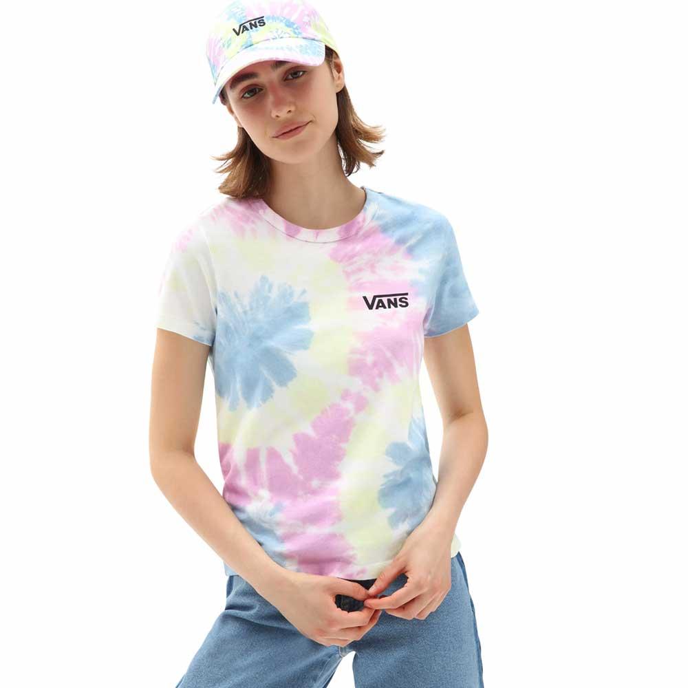 T-Shirt Vans WM Spiraling Wash Ba Orchid